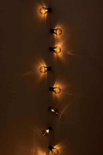 Festoon String Light, GREY BULBS