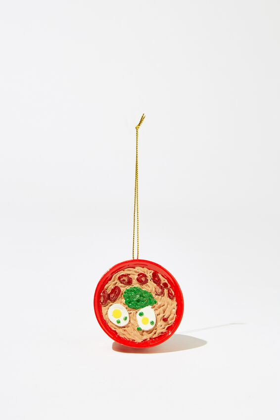 Christmas Ornament, RAMEN BOWL