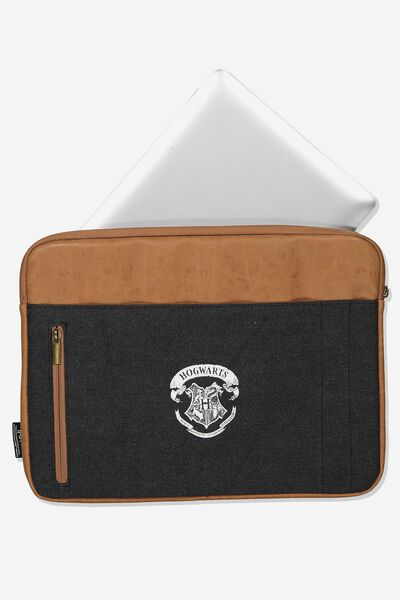 Take Charge Laptop Cover 13 inch, LCN WB HOGWARTS CREST