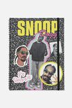 A4 Snoop Dogg Spinout Notebook Recycled, LCN MT SNO PATCHES