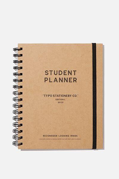 Student Planner 2020 / 21, CRAFT