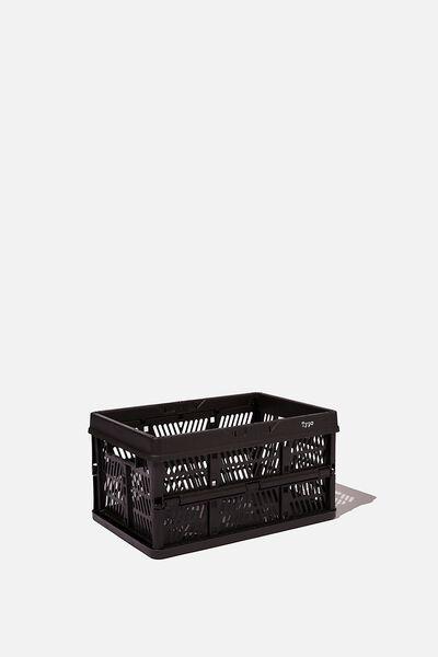 Small Foldable Storage, BLACK