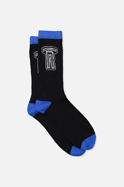 Mens Novelty Socks, LCN WB HPO RAVENCLAW COLLEGE