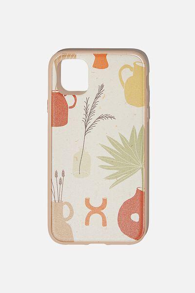 Protective Phone Case iPhone 11, POTS & PLANTS YDG