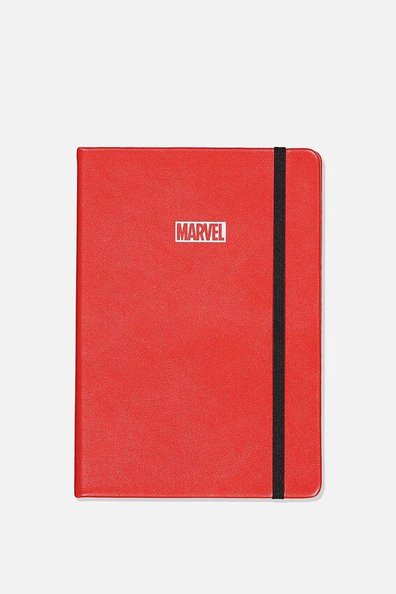 A5 Marvel Buffalo Journal, LCN MARVEL LOGO RED