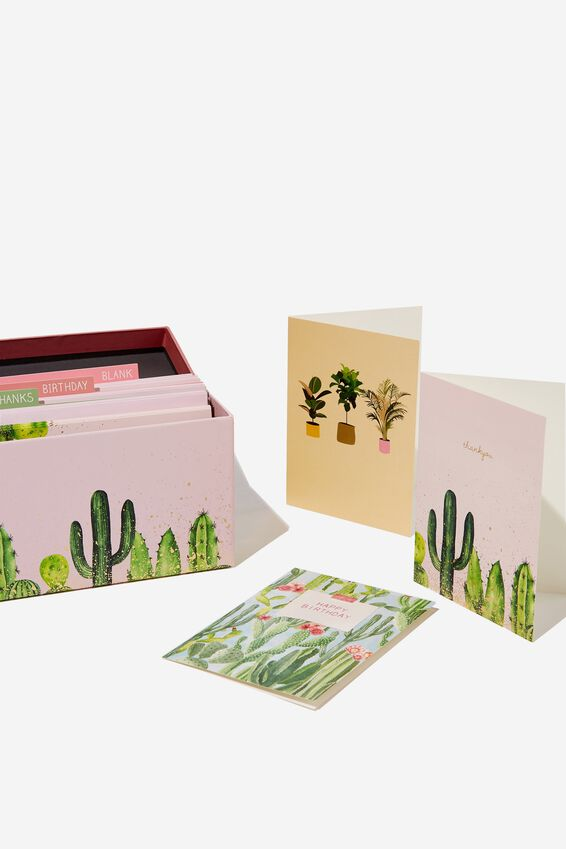 Mixed Card Set, PLANTS & FLOWERS