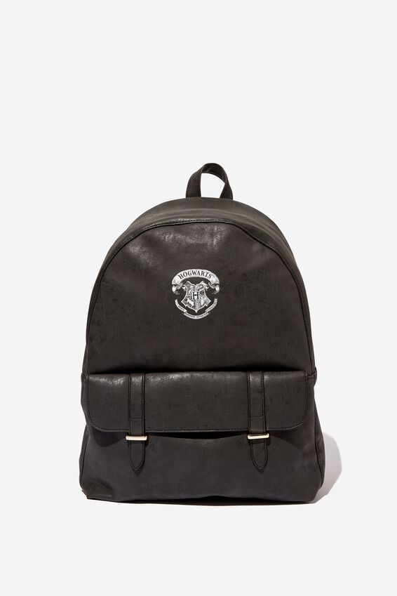 Harry Potter Scholar Backpack, LCN WB BLACK HARRY POTTER EMBLEM