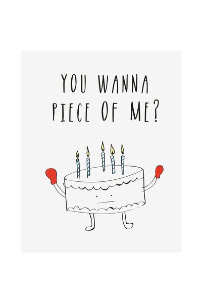 Birthday cards happy birthday cards typo funny birthday card piece of me bookmarktalkfo