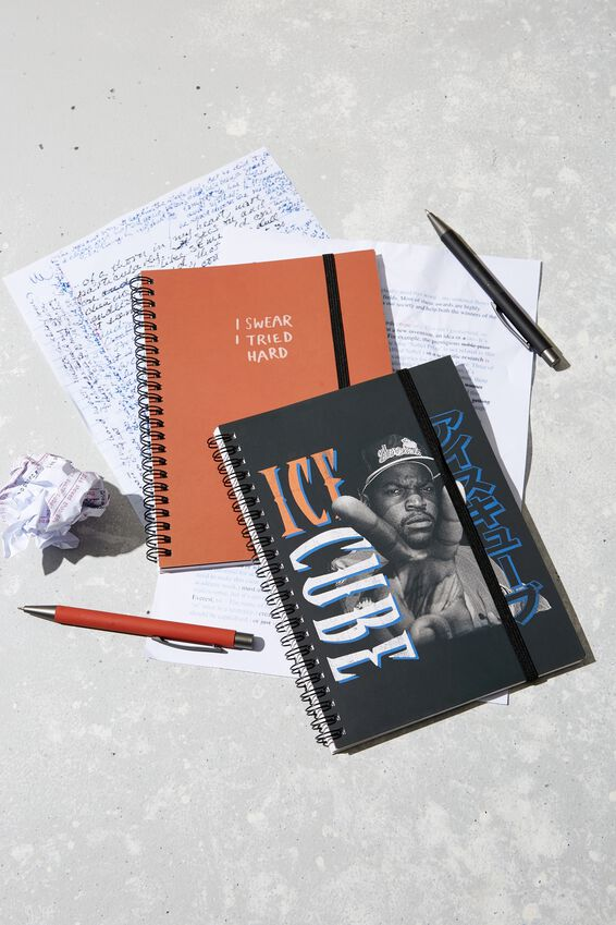 A5 Spinout Notebook Recycled, LCN MT ICE CUBE