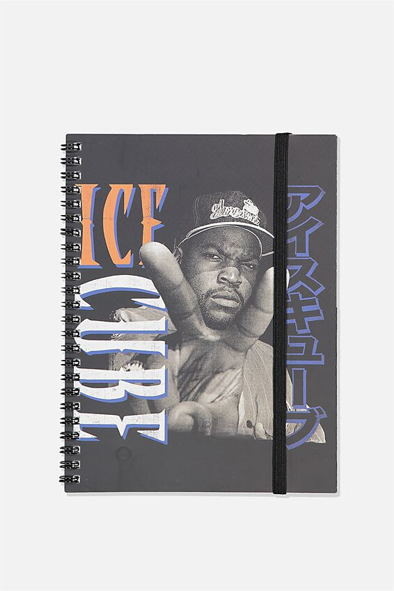 A5 Ice Cube Spinout Notebook Recycled, LCN MT ICE CUBE