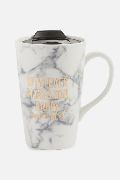 Travel Mugs Typo