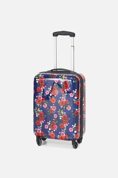 Small Suitcase, NAVY FLORAL