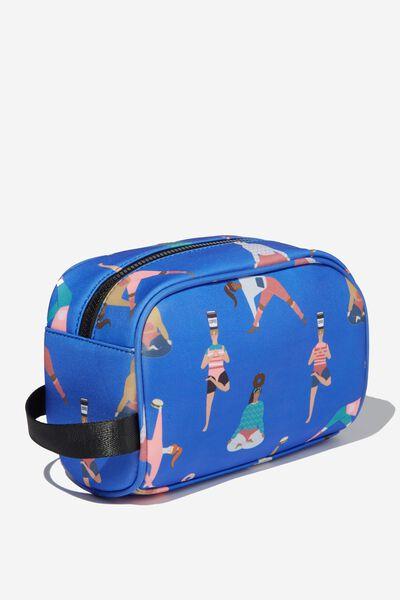 Active Wash Bag, YOGA GIRLS PRINT