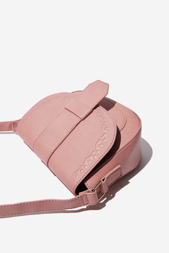 Saddle Bag, DUSTY PINK