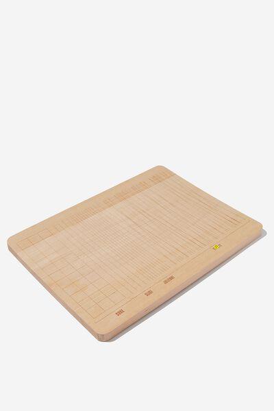 Chopping Board, CUTTING LINES