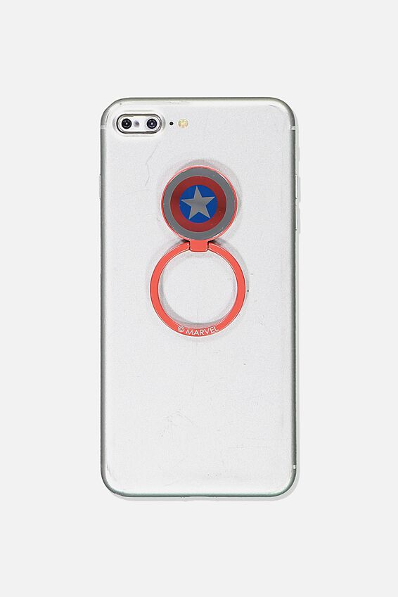 Marvel Metal Phone Ring, LCN MARVEL CAPTAIN AMERICA