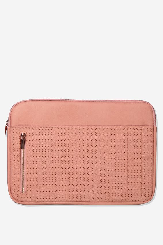 Take Charge Laptop Cover 13 inch, DUSTY PINK