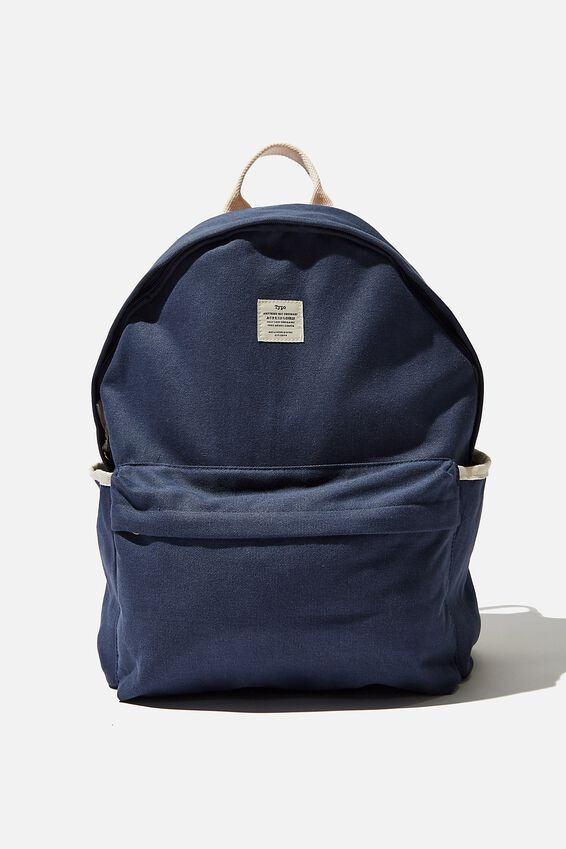 Fundamental Backpack, WASHED NAVY