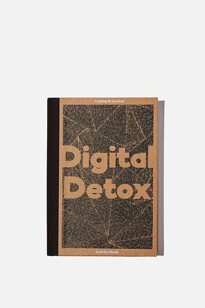 A5 Fashion Activity Journal, CRAFT DIGITAL DETOX