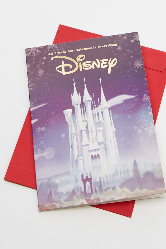 Disney Christmas Card 2019, LCN DIS CASTLE