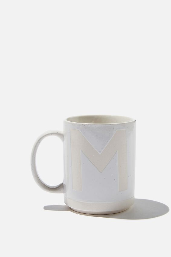 Alpha Daily Mug, CREAM SPECKLED M