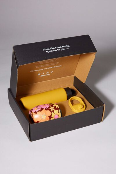 Happy Hour Gift Box, MUSTARD AND STEVIE FLORAL