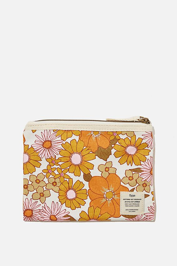 Daily Campus Case, ORANGE AND PINK STEVIE FLORAL