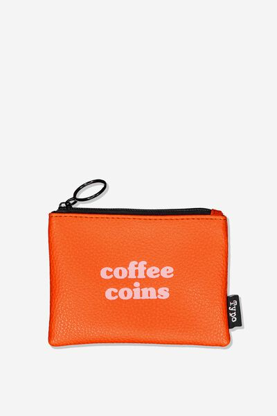 Fashion Coin Purse, COFFEE COINS