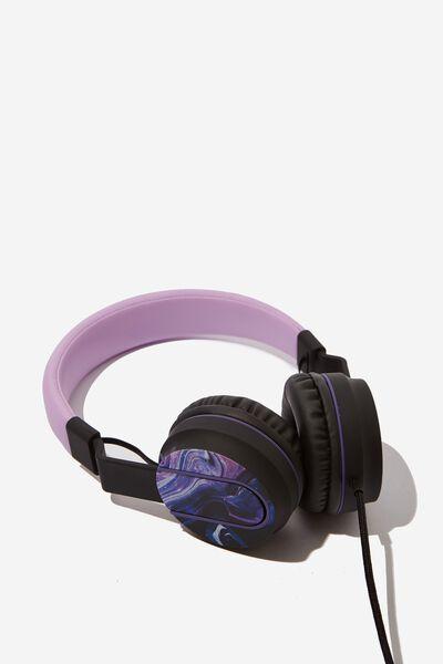 Frequency Headphones, MOON MARBLE