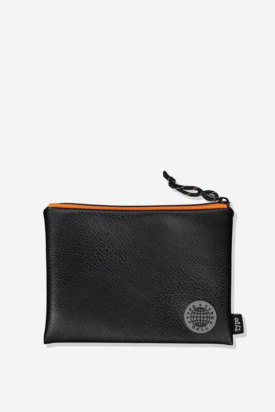 Riley Pencil Case, CANVAS WITH BADGE
