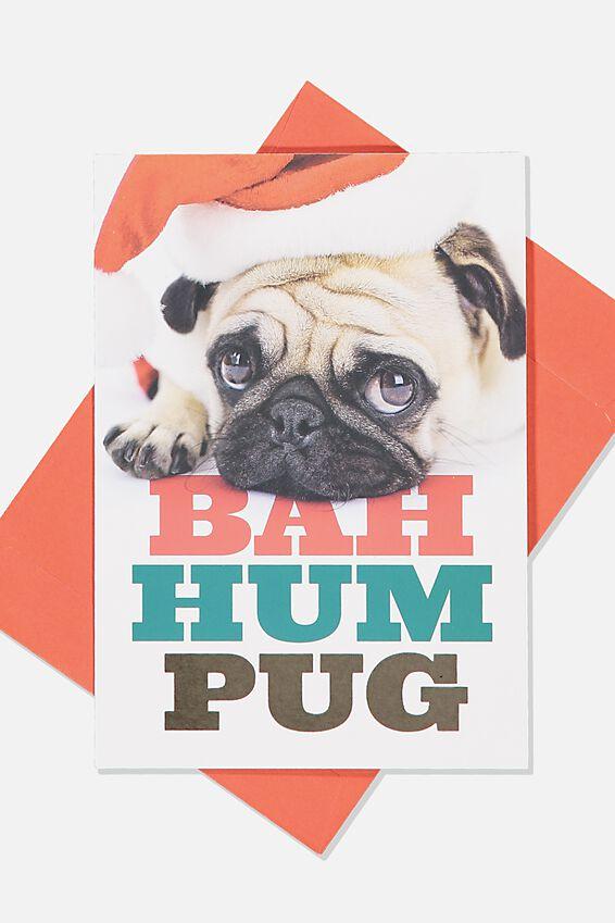 Christmas Card 2019, BAH HUM PUG