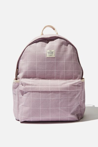 Fundamental Backpack, HEATHER GRID