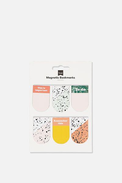 6Pk Magnetic Bookmark, SPLATTER & SPLICE