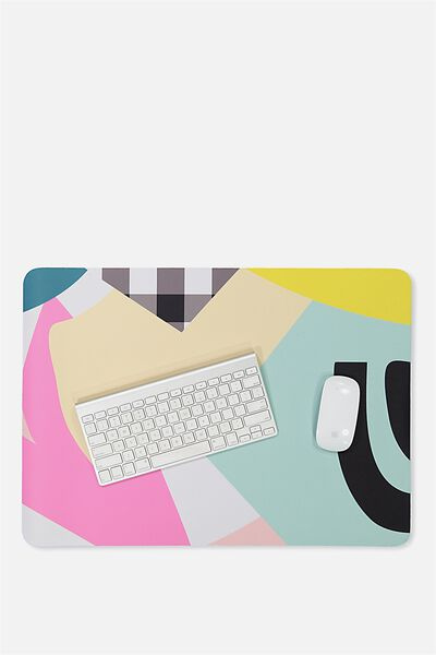 A2 Jumbo Mouse Pad, BRIGHT GEO