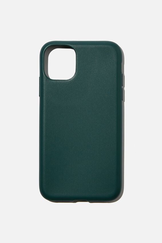 Slimline Recycled Phone Case Iphone 11, DEEP GREEN