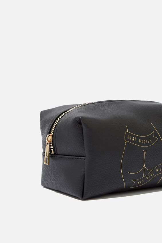 Made Up Cosmetic Bag, BUTTS