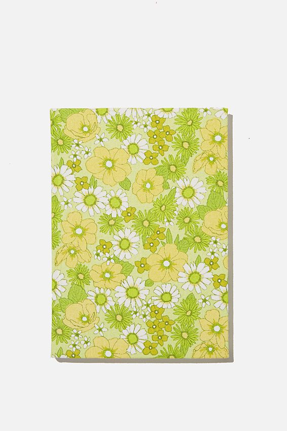 2021 A5 Oxford Weekly Diary, JONI FLORAL CITRINE