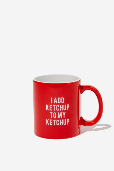 Anytime Mug, KETCHUP