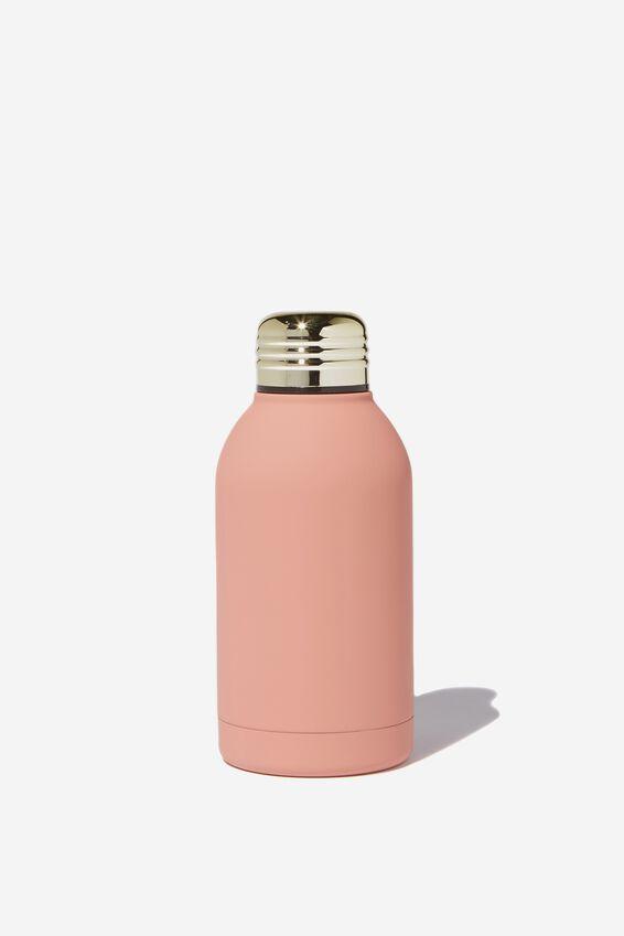 Mini Metal Drink Bottle, DUSTY PINK