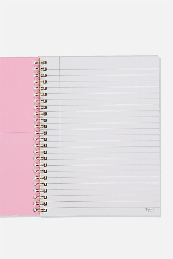 A5 Spinout Notebook Recycled, YOU ARE STRONG