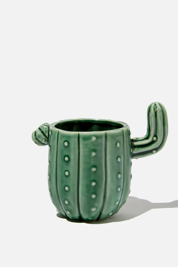 Novelty Shaped Mug, CACTUS WASH