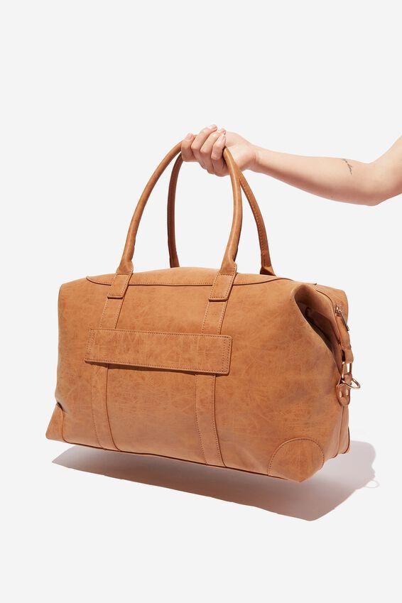 Nuevo Overnighter Bag, MID TAN