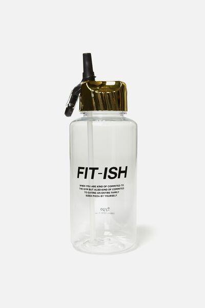 Suck It Up Drink Bottle, FIT-ISH