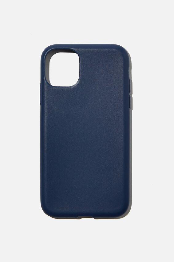 Slimline Recycled Phone Case Iphone 11, NAVY