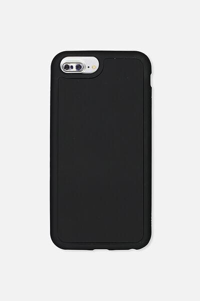 The Superior Phone Cover 6,7,8 Plus, BLACK RUBBERISED