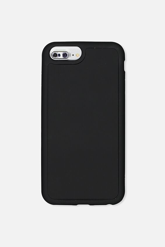 The Superior Phone Cover 6,7,8 Plus, BLACK RUBBERISED