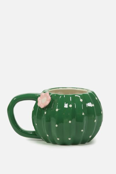 Novelty Shaped Mug, CACTUS BALL