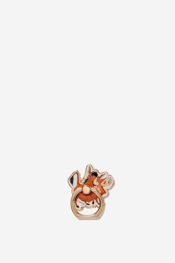 Lion King Metal Phone Ring, LCN DIS PUMBAA