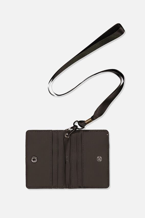 Utility Cardholder W/Lanyard, NOT TODAY