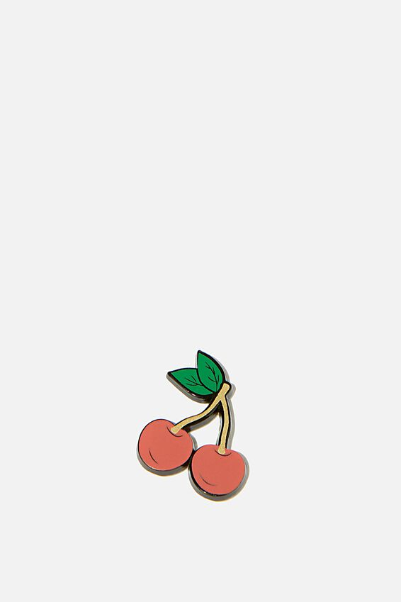 Enamel Stickers, CHERRIES